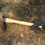 两用小锄头 花卉锄草植树栽花工具铁铲锄耙农用园林园艺用品