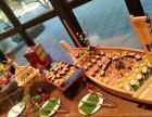承接主题宴会美食芝士焗生蚝,泰式甜辣鱿鱼圈,龙利鱼