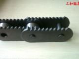 节距80mm尖齿链 锯齿形链板输送链条