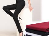 2014秋装新款品牌女裤 女式休闲小脚铅笔裤 加绒加厚大码长裤