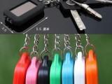 爆卖/太阳能充电LED小手电筒 钥匙扣手电 随身小手电