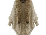 提前大促款欧洲站秋冬新款女式针织衫欧美中长款蝙蝠袖开衫针织衫