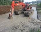 衡水市河道清淤挖掘机出租水挖出租服务宣传