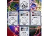 环球财富五大洲纪念币 中国与世界经济紧密联系的反映