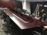 鄭州專業茶臺板臺紅木家具吊裝上樓搬運