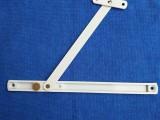 风撑,铝风撑,塑钢配件,传动器,铰链,角部铰链