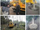 链条挖树机轮胎履带式挖树机