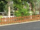供應樂山木紋色PVC欄桿