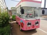 厂家直销定做电动小吃车 流动早餐车快餐车