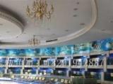 专业定制酒店海鲜鱼缸淡水鱼缸海水鱼缸超白龙鱼缸