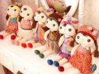 超清凉 正版 咪兔安吉拉 娃娃 安抚娃娃 毛绒玩具