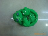 【优质】供应环保pvc套装搪胶青蛙 沐浴玩具 搪胶鸭子 浮水玩具