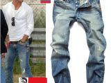 供应破洞牛仔品牌男长裤男批发新款小直筒修身牛仔裤磨破男裤代发
