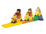 三段式滑行车-感统训练器材-幼儿园滑道车-塑料儿童玩具车BD-2