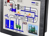 15寸超薄壁挂工业平板电脑触摸一体机机房监控专用