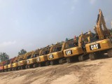 本地建筑工地出售一批纯土方精品二手挖掘机,全车原版性能卓越