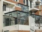 天津河西区专业封阳台露台 断桥铝门窗阳光房制作