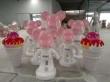 上海 千百尺 玻璃鋼雕塑 卡通暴力熊 雕塑 裝飾擺件
