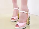 2014夏韩版美凉鞋夜店鞋子 防水台未来式外贸女凉鞋一件代发女鞋