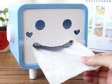 邻舍工坊 笑脸纸巾抽  创意纸巾盒 纸巾盒