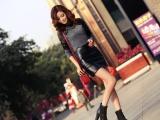 2014韩版时尚单高跟鱼嘴防水台粗跟罗马