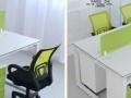 包头办公家具桌椅培训桌员工桌屏风卡位隔断简约组合四人位