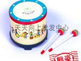 低价批发!奥尔夫乐器韩国定制儿童地鼓附锤子音乐早教玩具A2-9