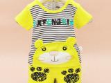 童装批发货源一件代发进货渠道婴儿童装套装0-1岁夏装2015新款