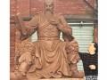 华阳景观雕塑/三国人物雕塑/关羽雕塑/古代人物雕塑