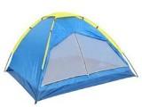 户外帐篷3-4人单层 户外家庭休闲 野营超轻旅游帐篷 防雨帐露营