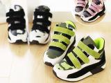 冬季新款 儿童男童女童韩版迷彩加绒运动鞋 加棉休闲鞋跑鞋批发