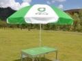 全新中国人寿展业桌全套桌子椅子2.5米伞