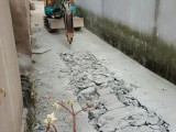 上海久保田15微型小挖机出租 上海小挖机出租 拆除 打地坪
