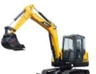 小型挖掘机租赁、小型挖掘机出租找山西宏建