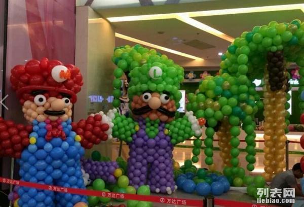 北京年会气球布置,宝宝百日宴气球装饰,气球造型