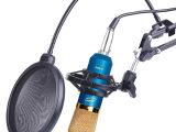 北蓝鼠K600电容麦克风 电脑网络K歌声卡录音话筒