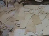 意大利树膏植鞣革牛皮革碎皮 黄牛皮皮 小皮件碎皮厂家直销