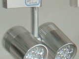 线轨道灯,四线轨道灯配件,三线轨道灯外壳