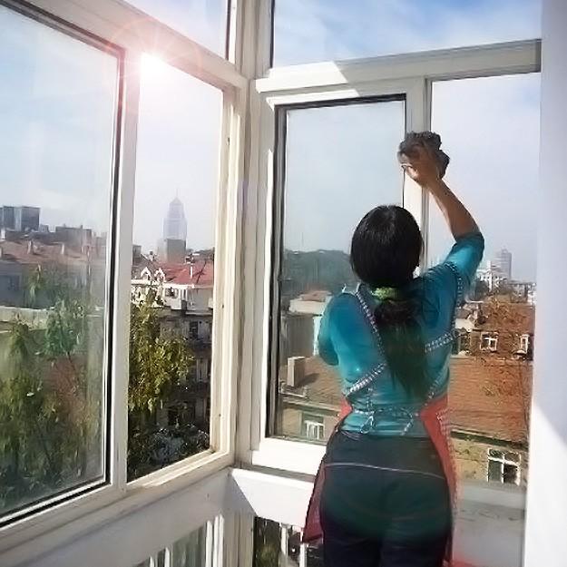 东营绿缘专业清洗 保洁7770099专业擦玻璃