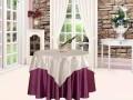 北京君康传奇供应酒店椅子套会议室桌布定做餐厅台布会所桌布口布