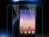 华为P7手机钢化玻璃膜 HUAWEI P7高清防刮防爆膜保护贴膜