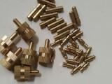 干缩试模铜钉预埋测钉混凝土测钉砂浆水泥干缩试模测头黄铜收缩头