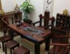莱芜老船木家具批发沉船木方方形小茶台茶桌图片