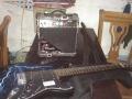 吉他电吉他 便宜卖了,带影响哟。