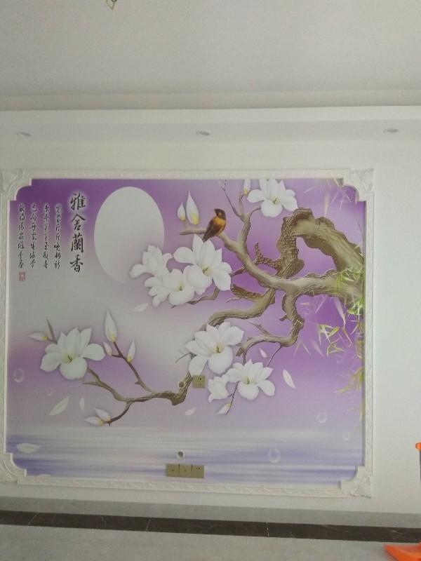 海南儋州无缝墙布墙纸,3D背景墙,硅藻泥,手工壁纸
