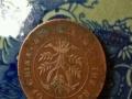 议价:中华民国双旗币二十文,中华开国钱币