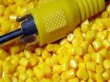 PP黄色再生料 共聚丙料 pp焊接板专用