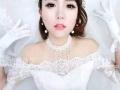 襄阳卢娜造型新娘跟妆新娘早妆定制您的炫目时代