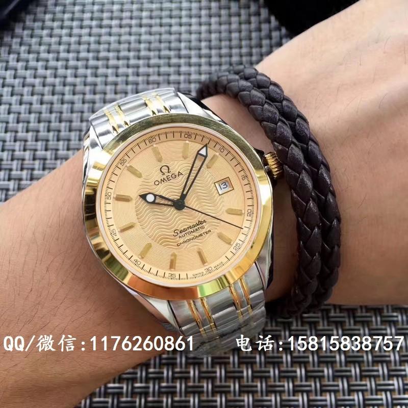 精仿欧米茄手表,复刻一比一欧米茄海马系列自动机械男表