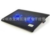 诺西L112 笔记本散热器 2个风扇黑色 笔记本散热垫 笔记本散